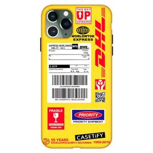 حالة الهاتف لفون 6 / 6P / 6sp7 / 8 / 7P / 8P / X / XS / إكسس ماكس فون 11 / 11pro ماكس 2020 موضة جديدة الغطاء الخلفي مع DHL المد بطاقة 5 أسلوب