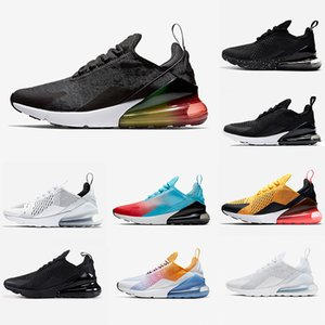 Nike Air max 270 shoes airmax 270s  Mesh Bleu Marine et Bourgogne Race Femmes Hommes Running Chaussures de plein air Blooming Floral Formation Sport trainers Sneakers Zapatos