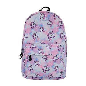 Designer- Fashion Trend Unicorn Stampa Wearable Tessuto studenti delle scuole medie del fumetto casuale zaino per il sacchetto di scuola delle donne degli uomini di alta qualità