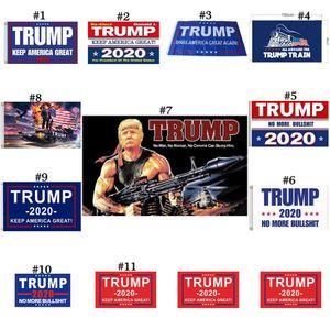 Trump Bayrağı 150 * 90cm Trump 2020 Tut Amerika Büyük Donald Trump Amerikan Başkanı Bayrak Tankı Banner Bayraklar 500pcs OOA8088