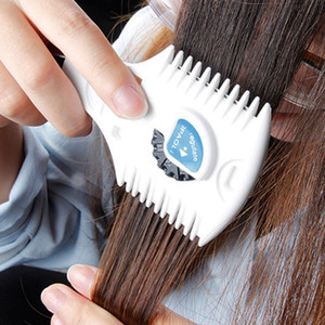 1pcs cheveux Massicots rasoir peigne Combo lame de rasoir d'étalonnage Barber Styling coupe de cheveux Remover Clipper manuel unisexe