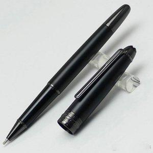 Luxo de alta qualidade Stylo Bille Classique Meister Ultra preto com prata Clipe Rollerball Pen Select Negócios Caligrafia XY2006108