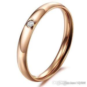 Hot Uphot UphotJEWELRY 2016 Große Förderung Echt 18 Karat Rose Gold / Silber Überzogene CZ Diamant Element österreichischen Kristall Verlobungsringe Großhandel