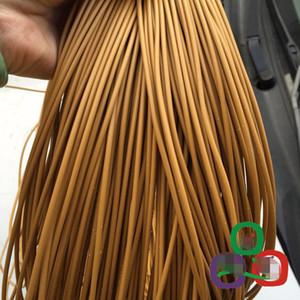 500G желтого цвета 3MM круглого синтетического ротанга PE ротанг плетение Материал пластик ротанга для трикотажной и ремонта стула корзины и т.д.