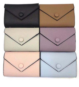 Wholesale leather wallet for women multicolor designer short wallet Card holder women purse classic zipper pocket Victorine