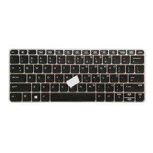 Elitebook 725 G3 820 G3 Dizüstü ABD İngilizcesi aydınlatmalı klavye Tam Boyutu için