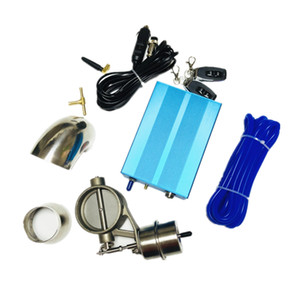 High-quality Stainless steel Vaccum Control Exhaust Valve Cutout Set with Vacuum Pump With Wireless Remote Controller Switch