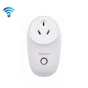 Sonoff S26 WiFi Smart Power Plug Socket Wireless Remote Control Timer Power Switch, Compatible with Alexa and Google Home, Support iOS and A