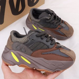 2019 Zapatos para niños Zapatillas para correr para bebés y niños pequeños Zapatillas para correr Kanye West 700 Bebés Niños Niños y niñas Chaussures Pour Enfants eur 28-35
