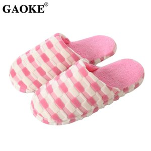 2020 Woman Slippers Winter Woman Shoes Home Slippers Couple Winter Warm Plush Indoor Lady Shoes Footwear