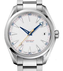 Hommes 2813 Mouvement mécanique automatique en acier inoxydable Montre Homme Aqua Terra 150m MastSelf-vent Montres-bracelets btime