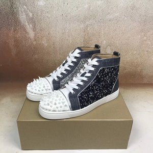 Perfect Designer Pik Pik Strass Sneakers Shoes For Rhinestone Red Bottom Shoes Women,Men Casual Fashion Party Wedding Shoes Cheap Trainer