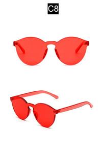 NEUE Hohe Qualität Übergroßen Siamese Sonnenbrillen Männer Frauen Mode Brille Anti-UV UV UV400 Eyewear 7 farben Optional Weibliche Oculos 9803