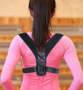Upper Back Posture Corrector Clavicle Support Belt Back Straight Slouching Corrective Posture Correction Spine Braces Supports Health