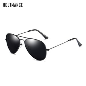 Polarizadas Aviación espejo gafas de sol clásicas Hombres Mujeres Piloto reflectante lente gafas con estilo Hombre Mujer Gafas de sol