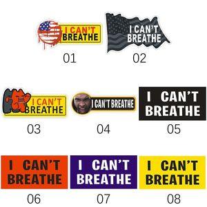 I can't Breathe Car Sticker 2020 Sticker Decoration Publicity Parade Personalized Creative Sticker 8 Black Lives Matter Too T3I5830