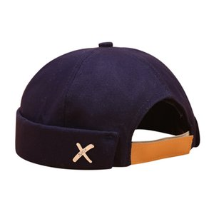 Homens Mulheres Hat Cap Casual Docker Sailor Mechanic Brimless Sólidos Hat Cor Casquette Homme Gorros Mujer Invierno Sombrero Mujer