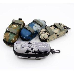 EVA Portable Sunglasses Box Storage Protector Camouflage Tactical Molle Sun Goggle Glasses Bag Case Outdoor EDC Accessory Bag