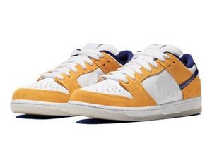 zapatos láser Naranja SB Dunk Low para la venta con la caja mejores niños, hombres, mujeres calzados informales de almacenar US5.5-US11
