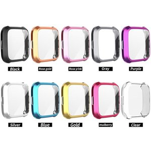 Caso della copertura di alta qualità TPU per Fitbit Versa lite Anti rotto cassa impermeabile per Fitbit Versa lite