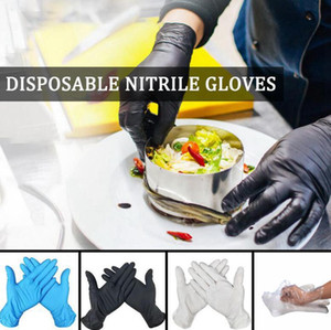 Disposable Nitrile Gloves S-L Kitchen Dishwashing Work Garden Protective Gloves Fruit Vegetable Plastic Gloves OOA8072