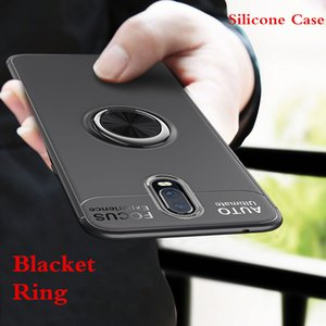 360 Rotation Ring Finger Holder Car Magnet Phone Cover Case For Xiaomi Pocophone F1 9 9SE 6X A2 For Redmi 6 6A