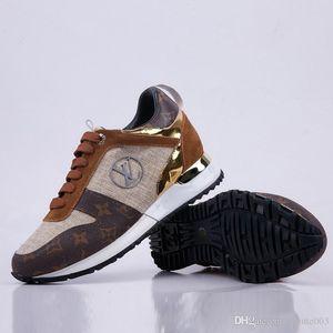 2020 mais recente Louis Vuitton Shoes LV França sapatilhas das mulheres Loafers Projeto Homens e Mulheres Low Cut Casual Run Away smith Flat Shoes