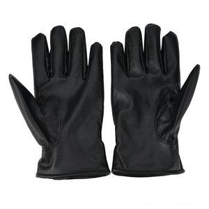 2019 Winter Warm Men Genuine Leather Fashion Cashmere Leather Male Driving Waterproof Gloves & Mittens Hats, Scarves & Gloves Mittens Guante