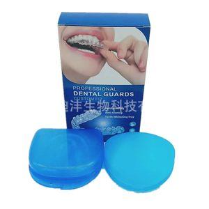 Профессиональный стоматологический Guard пакет 4 Новых Модернизированного Анти шлифовальной Стоматологической Night Guard Остановка Бруксизм Устраняют зубы сжимания