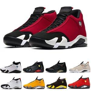 2020 Yeni 14 Erkek 14s Basketbol Ayakkabı Kadınlar Erkekler Şeker Kamışı Renksizleşmeye Son atış sepetleri Spor Eğitmenler Gym Kırmızı Sneakers gel