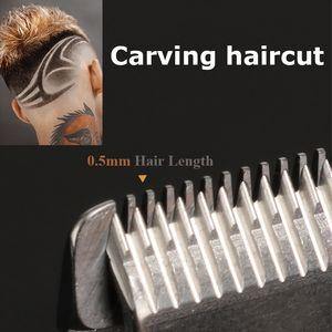 Pro Li T-Outliner Barber Shop Electric Professional Cordless Hair Trimmer Men 0mm Baldheaded Hair Clipper Hair Cutting Machine toptrimmer zw