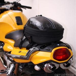 Assento Campo de estrelas Cavaleiro da motocicleta Rear Bag equitação Mochila Corrida de cauda Bag pode colocar Capacete Multifunction Saddle Bags capa de chuva