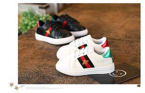 Courir Casual Designer Kids garçon sport Chaussures garçon Chaussures abeille Mode sport garçons Chaussures de sport en caoutchouc Kids School Chaussures Taille 26-36