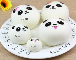 Pão bonito Squishy Lento Rising Creme Scented Descompressão Brinquedo Squishy Panda Bun Kawaii Crianças Stress Reliever Presente
