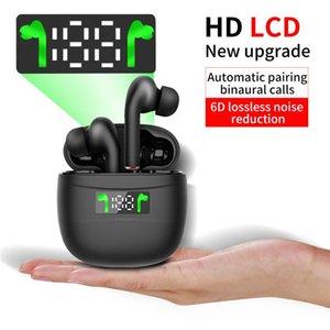 جديد J3 برو توس بلوتوث اللاسلكية سماعة الرياضة سماعة بلوتوث التحكم باللمس 5.2 شاشة LED الطاقة للجميع الهاتف