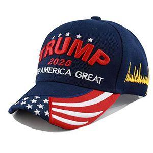 2020 ترامب كاب البيسبول قبعات حافظ على جعل أمريكا التطريز العظمى النساء الرجال الرياضة كاب قناع ترامب هات 5 لون 300PCS T1I1991