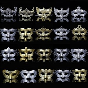 New hot sale Creative personality plastic adult mask party partying antique male and female masks T4H0248