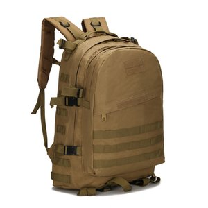 45L Tactical Backpack Military Army Bag Men Outdoor Rucksack Camping Tactical Backpack Hiking Sports Molle Pack Climbing Bags