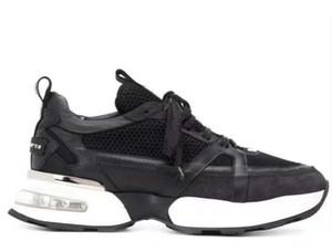 Hommes cuir rivets sneakers style punk Runner, PP Chaussures Casual décorées avec Iconic Crâne en métal pour le temps libre avec boîte Taille 38-46 H2