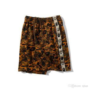 New Arrival Summer Men's Desert Terry Camo Causel Sportswear Shorts Lover Sport Hip Hop Loose Shorts