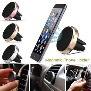 Support de voiture magnétique Mont Air Vent voiture pour les téléphones GPS Tableau de bord Air Vent Support De Voiture avec Retail Box MQ300
