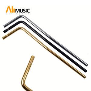 10 Pcs الإدراج المباشر الغيتار الكهربائي Tremolo الذراع Whammy شريط إدراج قطر جزئي 5.2 mm Black Gold Chrome