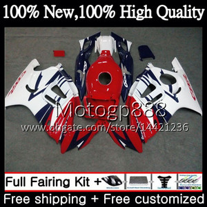 Body for HONDA Hot CBR600RR F3 CBR600FS CBR 600 F3 97 98 48PG22 CBR 600F3 FS Red white CBR600F3 CBR600 F3 1997 1998 Fairing Bodywork kit