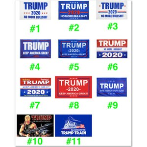 11 Styles Trump 2020 Flag Donald Trump Flag Keep America Great Donald for President Campaign Banner 90*150cm Garden Flags free DHL