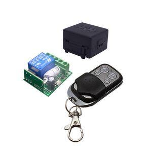 50шт 433Mhz Универсальный беспроводной пульт дистанционного управления Переключатель DC12V 10A 1CH релейный модуль приемника с RF Remote