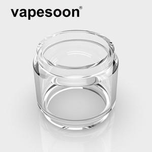 Authentic VapeSoon Replacment Gordura Estender Tubo De Vidro Do Bulbo Para Bravo RTA 25 MM O TROVÃO do Troll DHL Livre