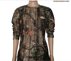 Outdoor camouflage long-sleeved hunting casual quick-drying out T-shirt Long Sleeve camouflage clothing military training tactical clothing