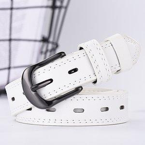 2019 Leather belt unisex belt casual fashion wild belt