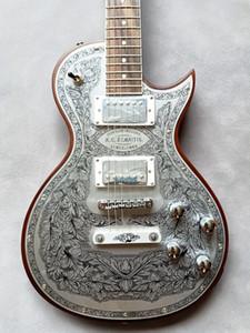 Rare sur mesure Zemaitis Casimere série avant métal C24MF MF naturel Guitare électrique