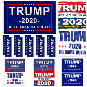 Donald Trump Flag Multi Styles 2020 Trump Flag Keep America Great Donald For President Campagna Banner Bandiere da giardino RRA2024